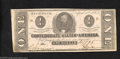 Confederate Notes:1863 Issues, 1863 $1 Clement C. Clay, T-62, Extremely Fine. This 2nd Series ...