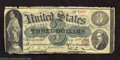 Obsoletes By State:Ohio, 1869 $3 Advertising Note, Gibson House Hotel, Cincinnati, OH, ...