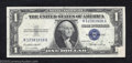 Error Notes:Foldovers, 1935E $1 Silver Certificate, Fr-1614, Choice Crisp ...