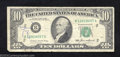 Error Notes:Ink Smears, 1985 $10 Federal Reserve Note, Fr-2027-B, Fine. This note has ...