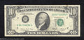 Error Notes:Ink Smears, 1985 $10 Federal Reserve Note, Fr-2027-B, Fine. A dark green ...