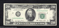 Error Notes:Ink Smears, 1977 $20 Federal Reserve Note, Fr-2072-B, Extremely Fine+. The ...
