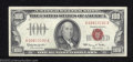 Small Size:Legal Tender Notes, 1966 $100 Legal Tender Note, Fr-1550, Crisp Uncirculated. A ...