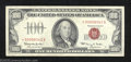 Small Size:Legal Tender Notes, 1966 $100 Legal Tender Note, Fr-1550*, XF. Three light folds ...