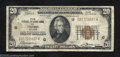 Small Size:Federal Reserve Bank Notes, 1929 $20 Federal Reserve Bank Note, Fr-1870-G, Very Good. Some ...