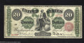 Large Size:Legal Tender Notes, 1863 $20 Legal Tender Note, Fr-126b, About Extremely Fine. ...