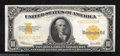 Large Size:Gold Certificates, 1922 $10 Gold Certificate, Fr-1173, Extremely Fine+. This note ...