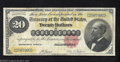 Large Size:Gold Certificates, 1882 $20 Gold Certificate, Fr-1178, Fine-Very Fine. A problem-...