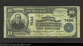 District of Columbia, DC - $10 1902 Plain Back Fr. 624 Commercial National Bank of Washington Ch. # 7446 A little tight...
