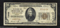 National Bank Notes:Georgia, Savannah, GA - $20 1929 Ty. 1 Citizens & Southern NB ...
