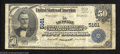 National Bank Notes:Kentucky, Louisville, KY - $50 1902 Plain Back Fr. 682 The ...