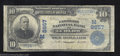 National Bank Notes:Missouri, Ludlow, MO - $10 1902 Plain Back Fr. 626 The Farmers NB