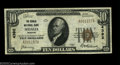 National Bank Notes:Missouri, Sedalia, MO - $10 1929 Ty. 1 The Sedalia NB Ch. # 4392
