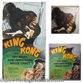 "Autographs, ""King Kong"" Theater Standee, 1930's"