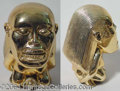 """Autographs, Golden Fertility Idol from """"Raiders of the Lost Ark"""" (1980)"""
