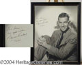"Autographs, ""King Kong""'s Bruce Cabot, Signed Photo, 1936"