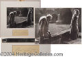 "Autographs, Charles Laughton ""Hunchback"" Photo and Signature"