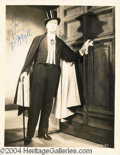 "Autographs, Frederick March ""Dr. Jeckyll"" Signed Photo"