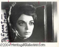 Autographs, Barbara Steele Signed Photo