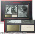"Autographs, Elsa Lanchester ""Bride of Frankenstein"" Display"