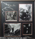 "Autographs, ""Frankenstein"" Collage"