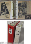 Autographs, Ackerman Archives: Television Binders