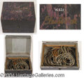 Autographs, Wooden Box with Cables
