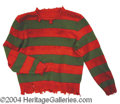 "Autographs, ""Nightmare on Elm Street"" Freddy Krueger Sweater"