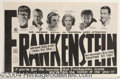 Autographs, Frankenstein's First Advertisement