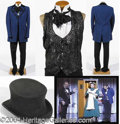 Autographs, Male Assistant's Royal Blue Victorian Costume – has video still