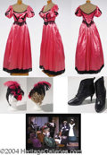 Autographs, Gay's Fuchsia Victorian Dress Fuchsia – has video still