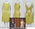Autographs, Four Yellow Sequin Dresses – has video still