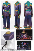 Autographs, Four Male Chinese Costumes Broadway– has pic