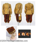 Autographs, Four Gold Cossack Costumes – has pic