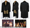 Autographs, Harry Blackstone's Black Tailcoat with Velvet Collar- has pic