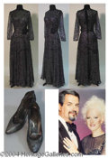 Autographs, Gay Blackstone's Midnight Blue Dress - has pic