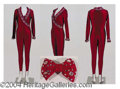 Autographs, Gay Blackstone Deep Raspberry Jumpsuit