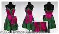 Autographs, Gay Blackstone Pink & Emerald Costume