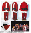 Autographs, Santa Suit (second suit) - has pic