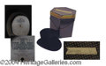 Autographs, Harry Sr. Seal Skin Top Hat in Original Box