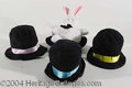 "Autographs, Blackstone ""Bunny-in-Hat"" Hand Puppets"