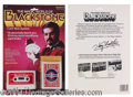 Autographs, Blackstone Magic Card Trick System