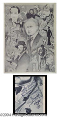 Autographs, BLACK AND WHITE POSTER FEAT. VARIOUS MAGICIANS