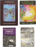 Books:First Editions, William Hope Hodgson. Four Hodgson Modern First Editions,including: . ... (Total: 4 Items)