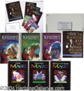 Autographs, Blackstone Set of Magic Books