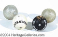 Autographs, BLACKSTONE JR. BILLIARD BALLS
