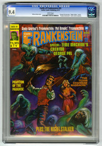 Castle of Frankenstein #25 (Gothic Castle Printing, 1975) CGC NM 9.4 White pages
