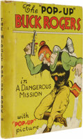 Books:Fiction, Lt. Dick Calkins and Phil Nowlan Pop-up Book: Buck Rogers in TheDangerous Mission. (New York: Blue Ribbon Press, 1934),...