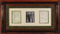 "Autographs:Military Figures, George S. Patton, Jr. Typed Report Signed ""G. S. Patton, Jr."" as Lieutenant General, U.S.A., Commanding, two pages, 8"" x..."