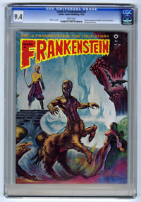 Castle of Frankenstein #21 (Gothic Castle Printing, 1974) CGC NM 9.4 White pages